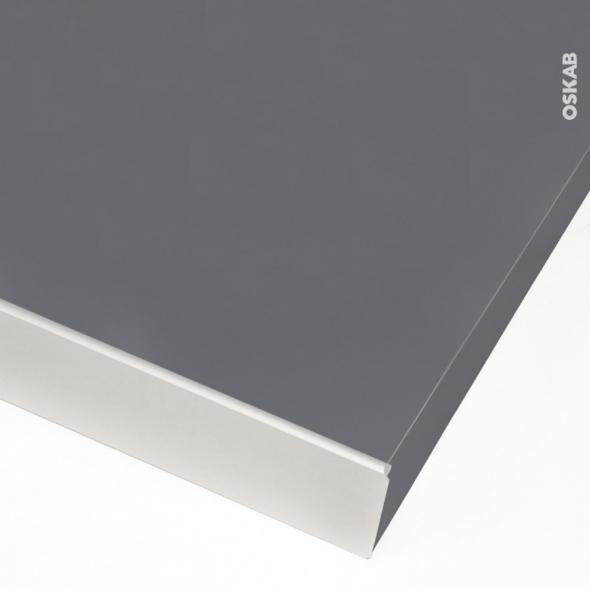 profil finition alu plan de travail 38 mm bord droit planeko