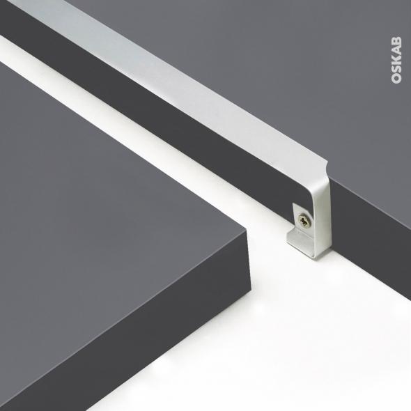 profil jonction d angle alu plan de travail 38mm bord droit planeko