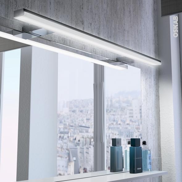 Eclairage de salle de bains LED Calypso L80cm L80 x H15 x