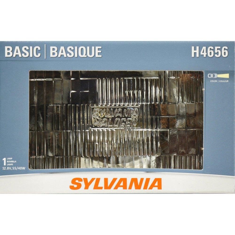 medium resolution of sylvania h4656 basic headlight bulb sylvania automotivedirect h4656 replacement bulb for headlight applications