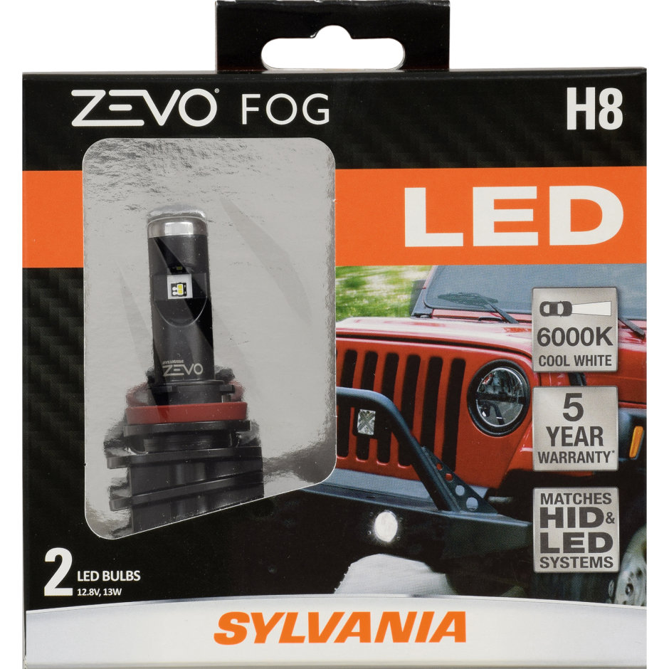 medium resolution of h8 led bulb zevo fog
