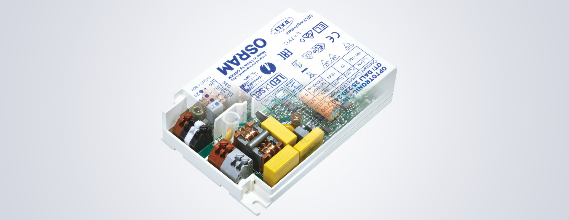 hight resolution of the osram range of constant current led drivers