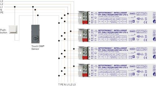 small resolution of digital systems light is osram osram oti dali wiring diagram