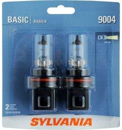 sylvania 9004 basic headlight bulb sylvania automotive sylvania 9004 bulb wiring [ 1500 x 1500 Pixel ]