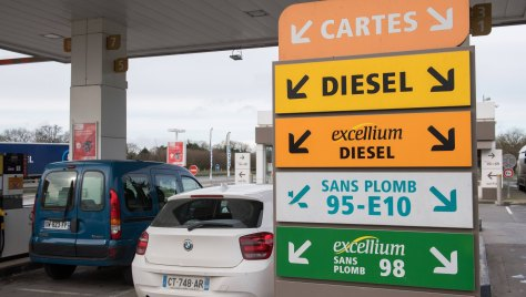 Certaines stations service sont en rupture de carburant (Photo d'illustration).