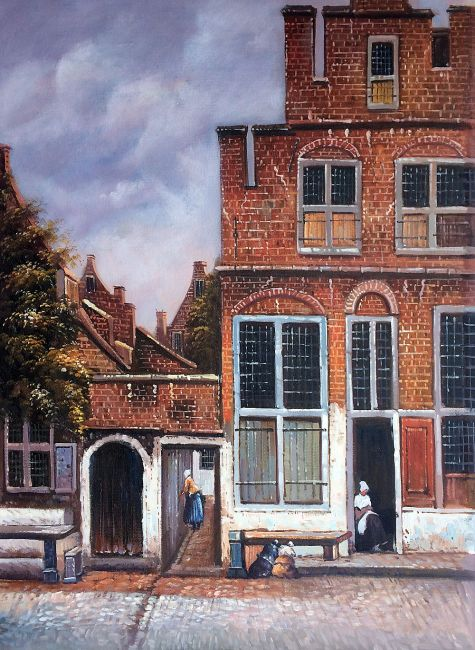 Vermeer Little Street  Oil Painting Reproduction