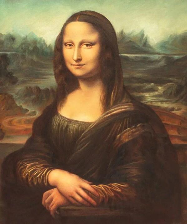 Leonardo Da Vinci Mona Lisa - Oil Painting Canvas