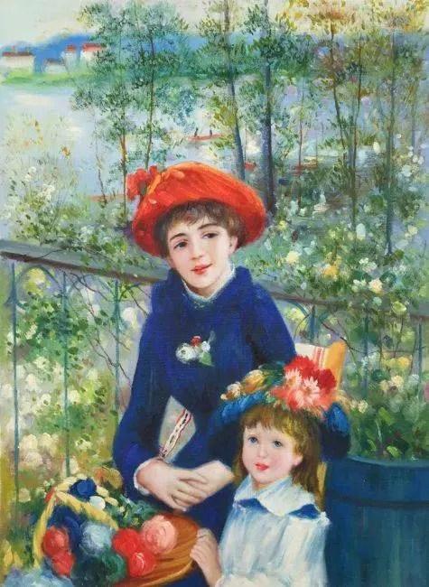 PierreAuguste Renoir Two Sisters On the Terrace
