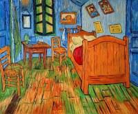 Bedroom at Arles - Vincent Van Gogh Reproduction