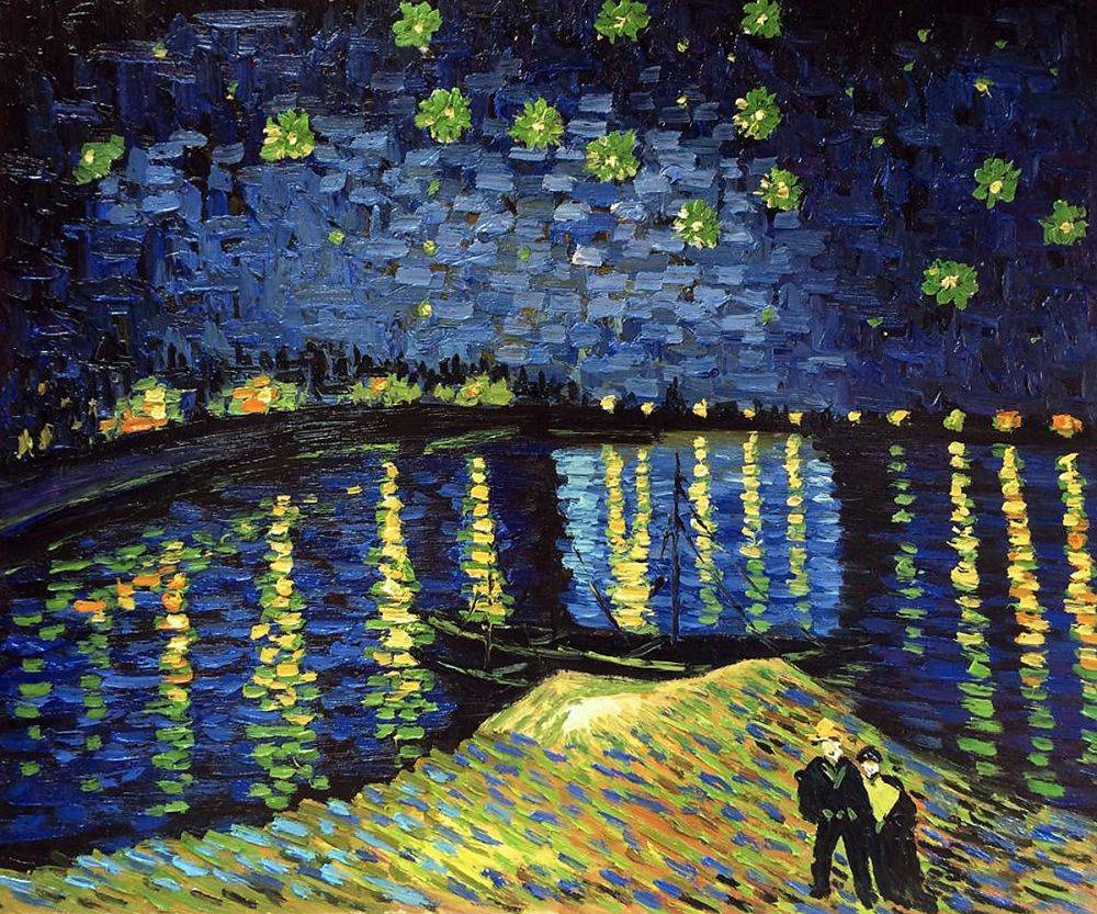 starry night over the