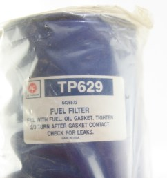 new oem acdelco tp629 diesel fuel filter gm 6436572 free shipping nip [ 1728 x 1152 Pixel ]
