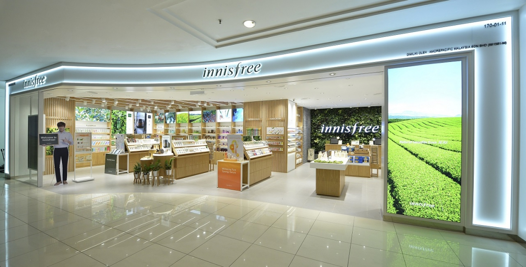 Innisfree Recently Opened Its First Store In Penang At