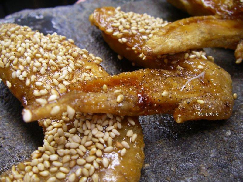 Tebasaki (手羽先) Ailes De Poulets Frites A La Japonaise