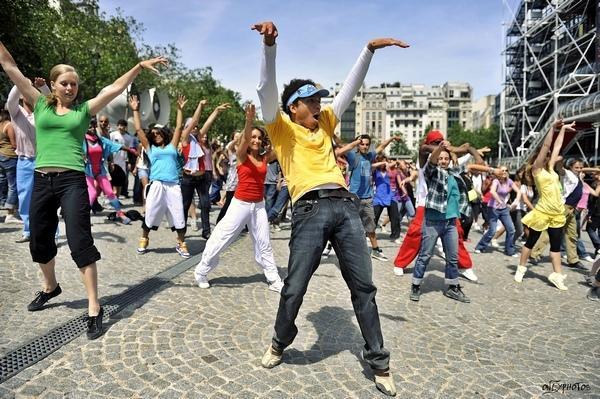 flashmob rouen chorégraphie