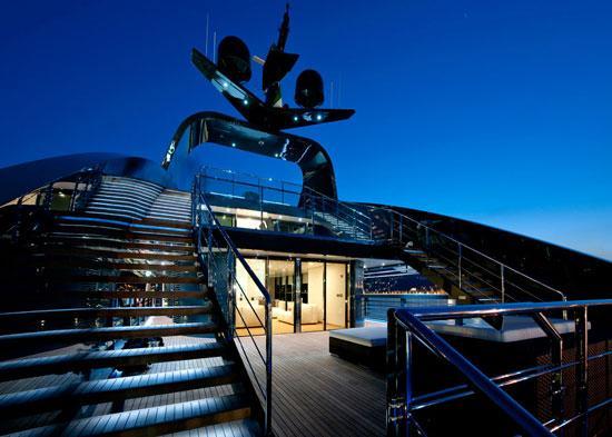 Emerald Ocean : un yacht de luxe