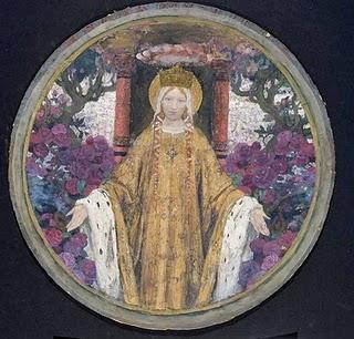 Edgard-Maxence, Symbolisme et Mysticisme
