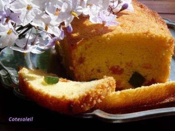 Cake De Sophie Aux Fruits Confits