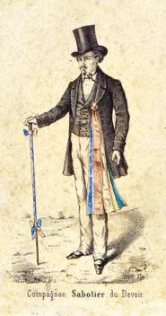 Image result for images of a french compagnon
