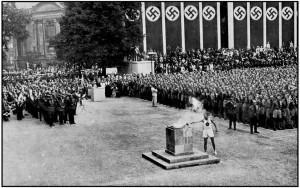Hitler Jeux Olympiques en 1936 racisme nazi Owens