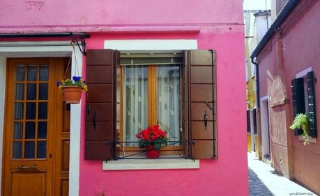 Burano : la vie en rose