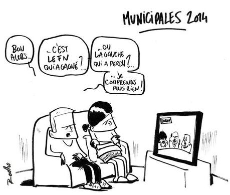 Municipales 2014, résultats, abstention, FN, gauche