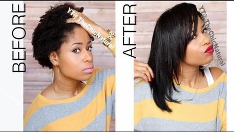 Comment Lisser Ses Cheveux Naturel A La Maison Sans Les