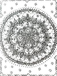 Anxiety: Anxiety Coloring Book