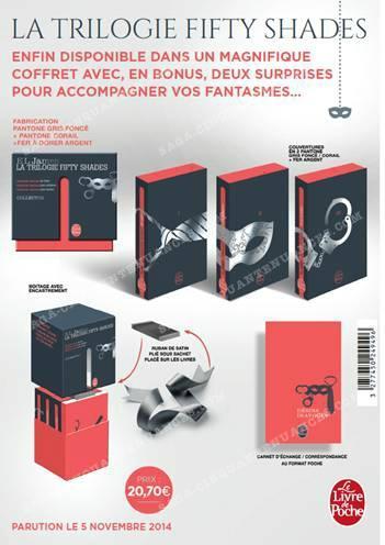 Coffret 50 Nuances De Grey : coffret, nuances, Nouveau, Coffret, Trilogie, Cinquante, Nuances, Poche, Paperblog