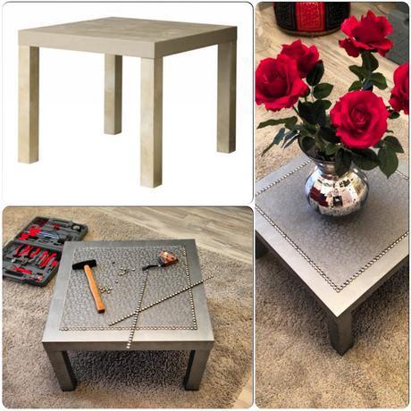 customiser une table basse ikea