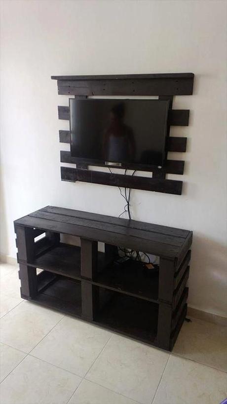 meuble pour tele a voir