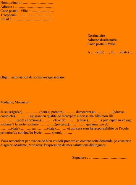 Mot D'excuse Absence Ecole Primaire : d'excuse, absence, ecole, primaire, Lettre, Absence, Ecole, Maternelle, Voyage, Paperblog