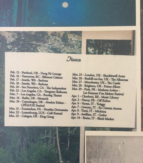 small resolution of itasca has landed overseas and begun their uk eu tour as a duo featuring dave mcpeters on pedal steel guitar mark your calendars and prepare to be