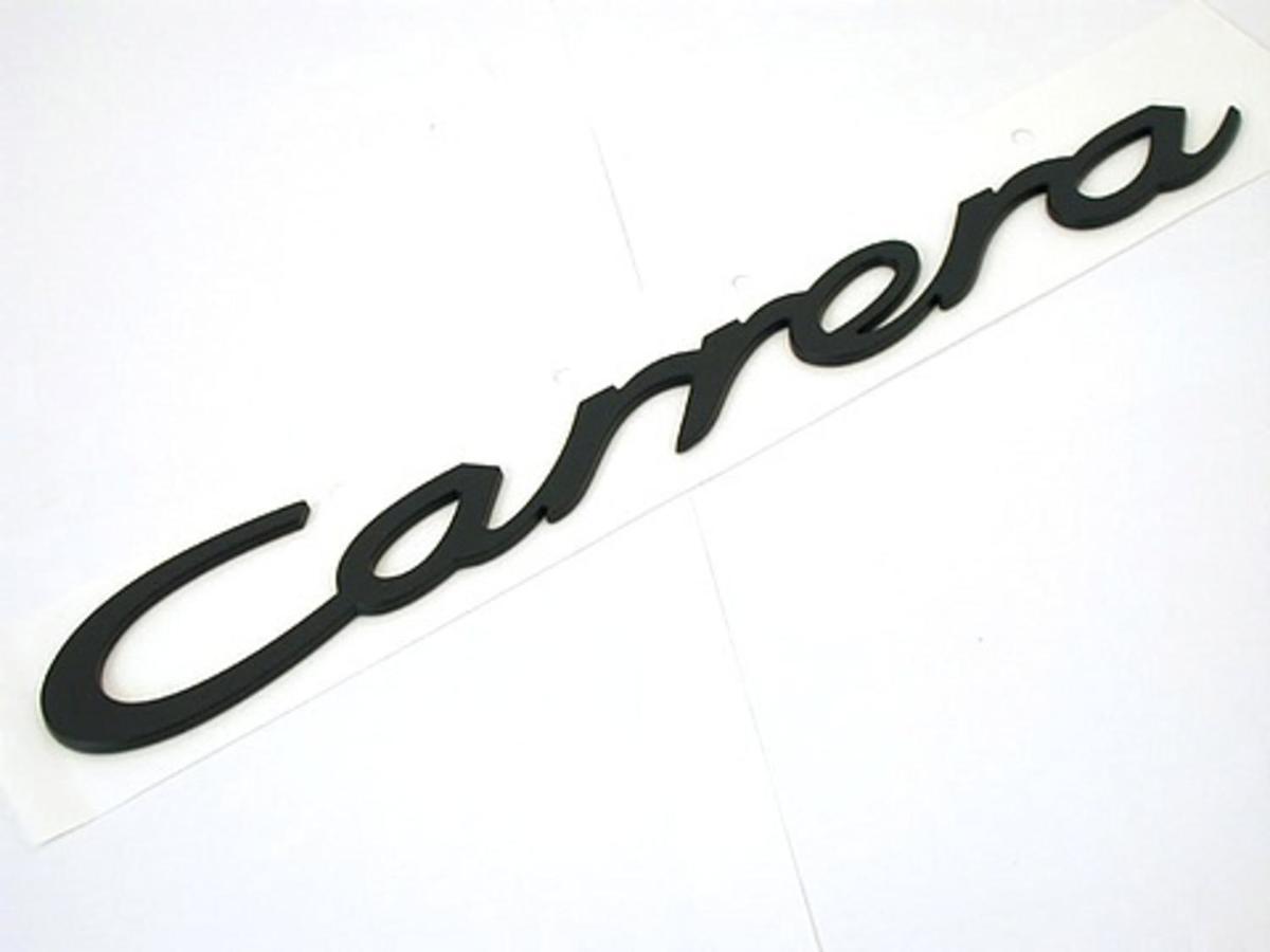 911 964 84 94 Logo Carrera Black Adhesive
