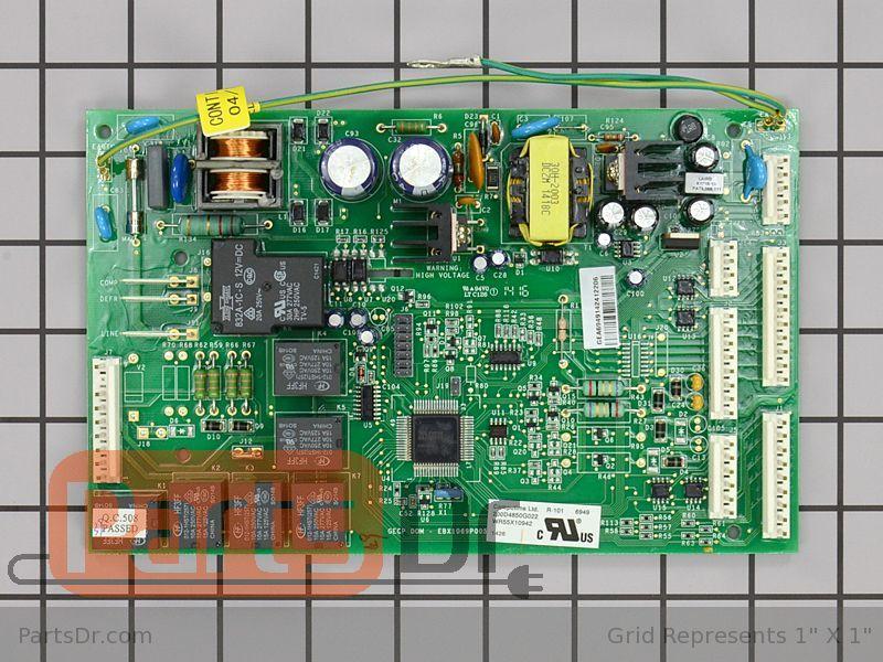 ge dishwasher schematic diagram honeywell fan wr55x10942 - refrigerator main control board | parts dr