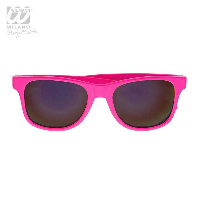 Pinke Neon Sonnenbrille gnstig kaufen bei PartyDekode