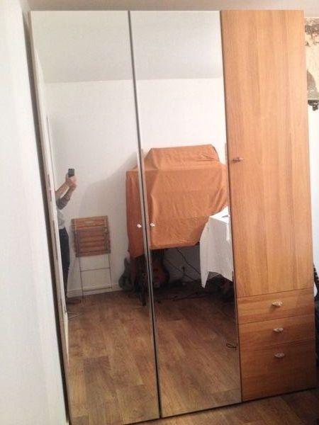 armoire dressing gautier portes miroir meubles