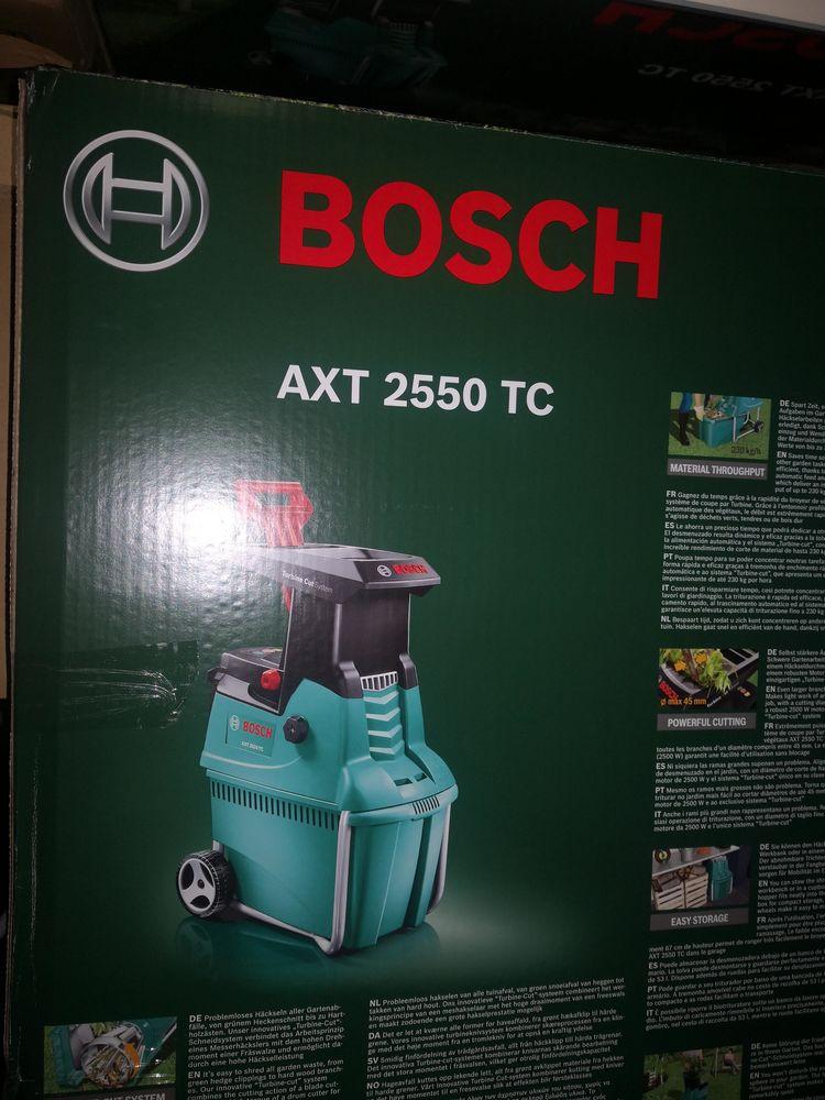 Bosch Axt 2550 Tc : bosch, Achetez, Broyeur, Végétaux, Revente, Cadeau,, Annonce, Vente, Villeurbanne, WB166526513