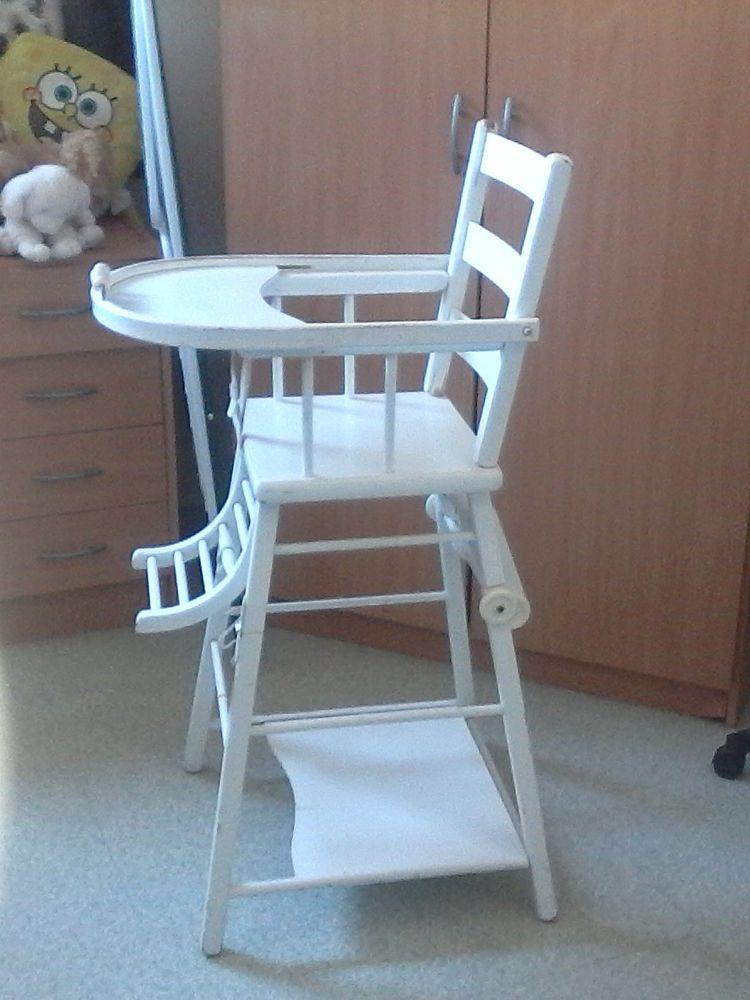 achetez chaise haute bebe occasion