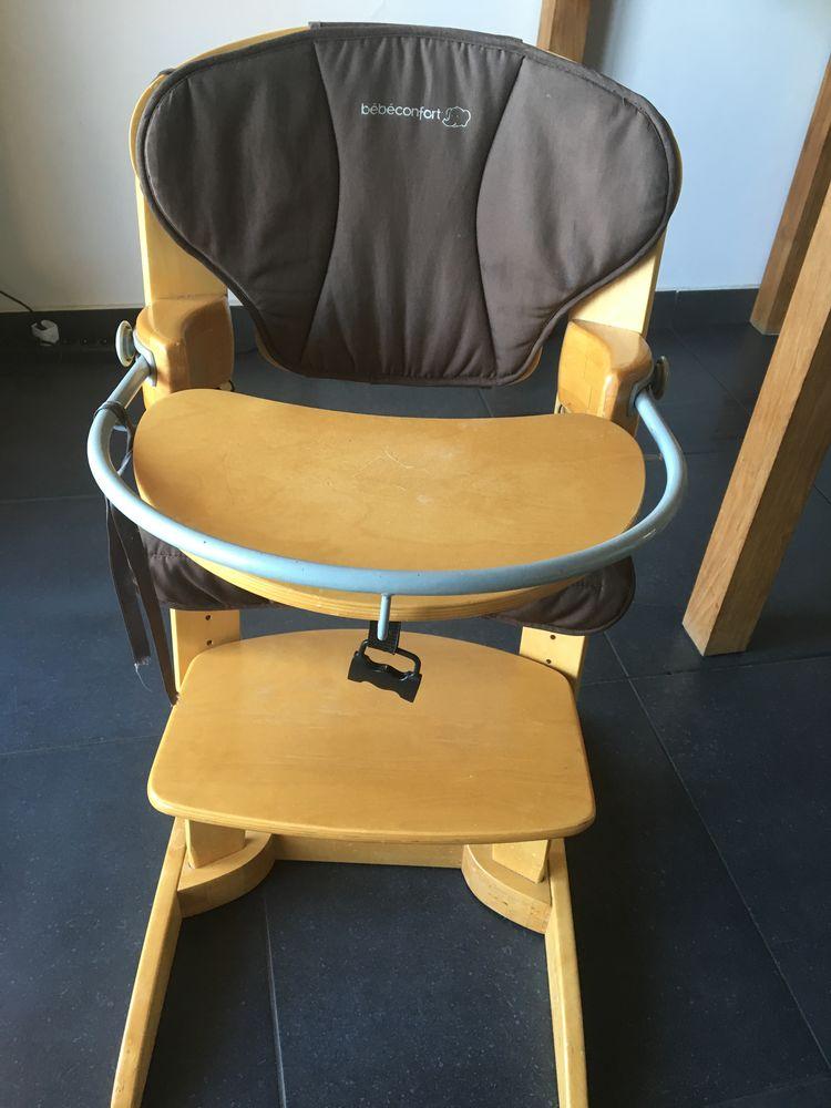 achetez chaise haute bois occasion