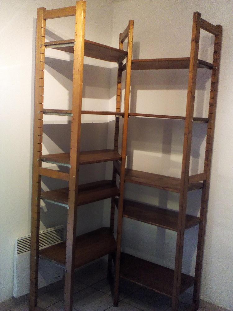 etageres d angle en bois plein modulables 99 a 99