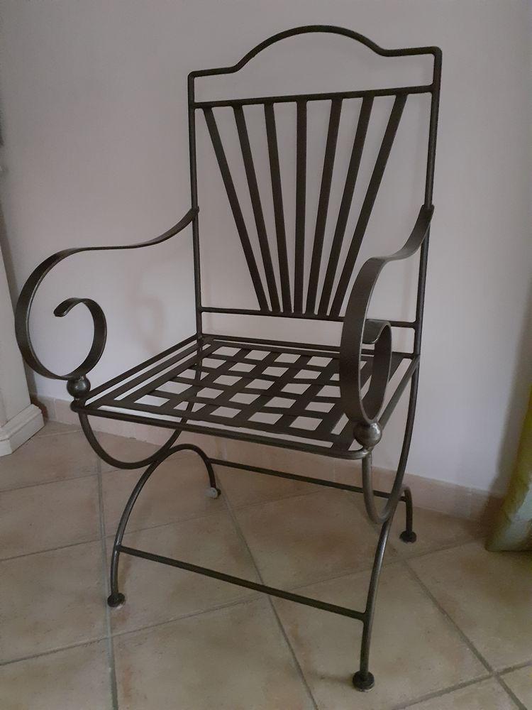 fauteuil en fer forge a 35