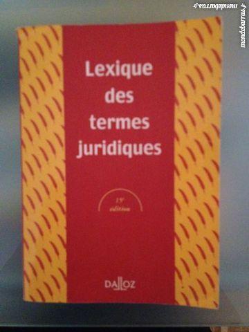 Lexique des termes juridiques - broché - Raymond Guillien