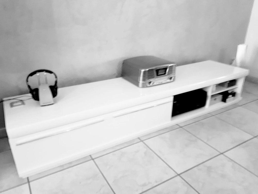 achetez meuble banc tv hifi quasi neuf