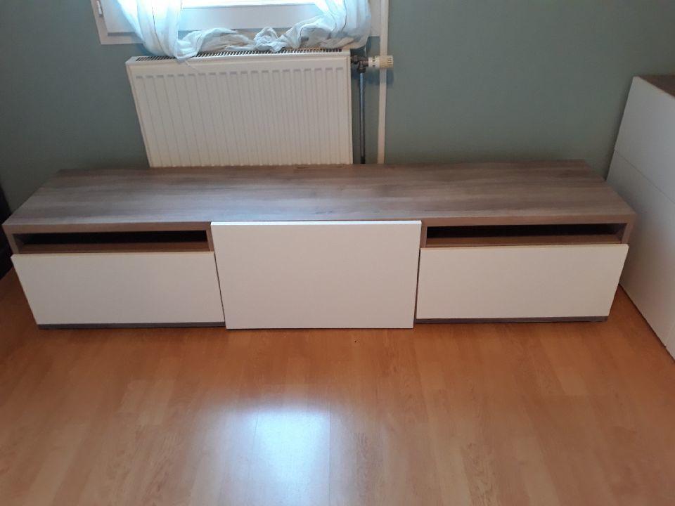 meuble tv ikea besta a 150
