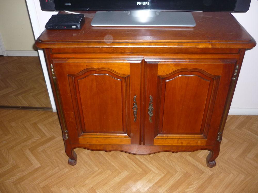 meuble tv merisier style louis philippe a 120
