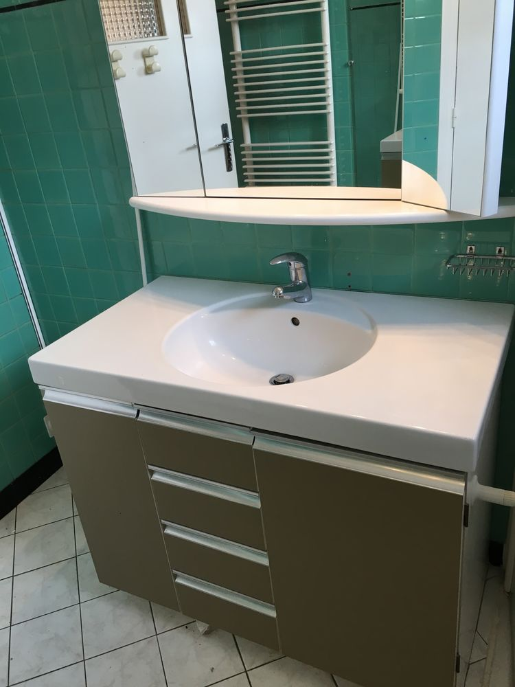 meuble salle de bains complet a 100