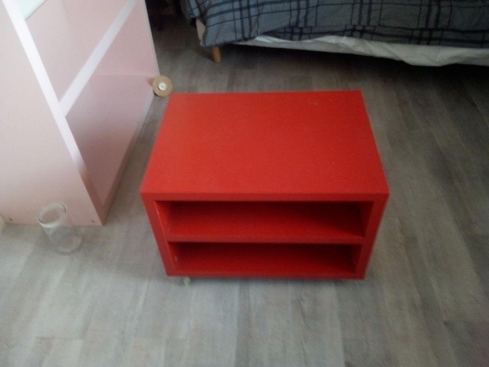 petit meuble a roulettes ikea rouge a 34