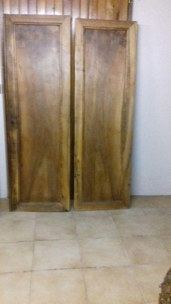 portes d armoire ancienne en noyer a 60