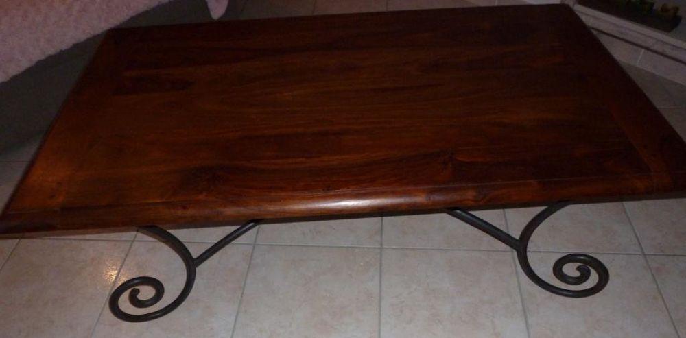 achetez table basse bois quasi neuf