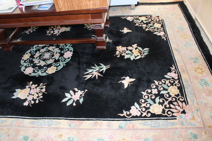 tapis chinois pur laine a 400
